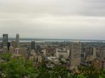 モン・ロワイヤル公園から見たモントリオール.JPG